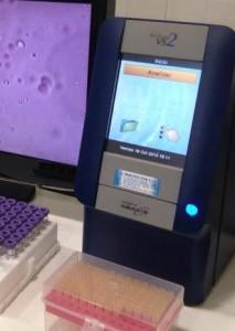 Analizador de bioquímica hemática